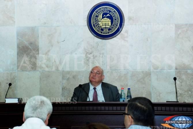 ԵՊՀ հոգաբարձուների խորհուրդը չհաստատեց ԵՊՀ ռեկտորի լիազորությունների վաղաժամկետ դադարեցման օրակարգը