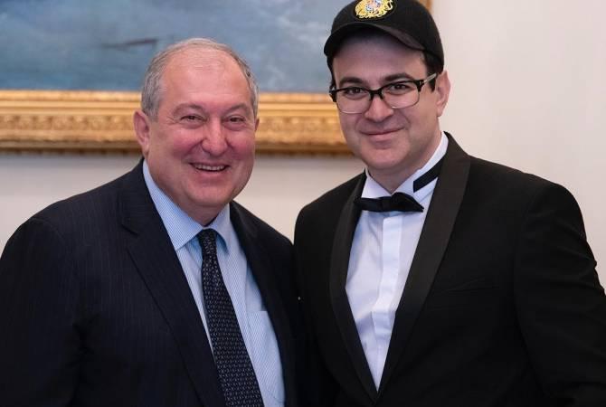 ՀՀ նախագահ Արմեն Սարգսյանը հյուրընկալել է Գարիկ Մարտիրոսյանին