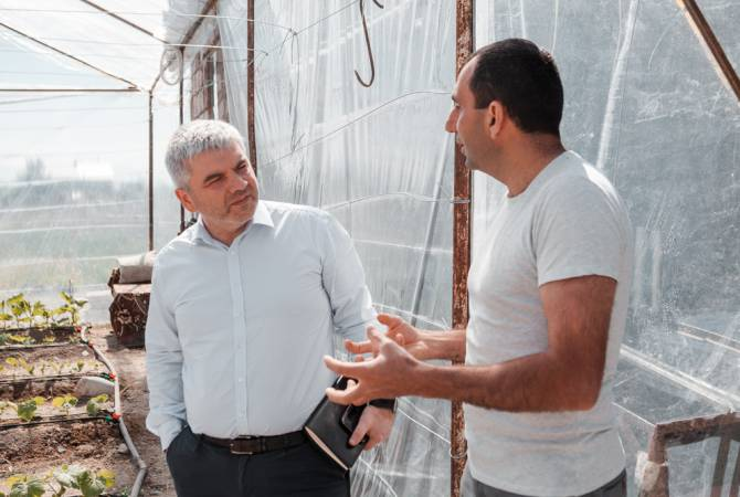 Նորարար գյուղատնտեսություն՝ սեփական ձեռքերով. ֆերմերը Սիփանիկում ինքնաշեն ջերմոց է կառուցել