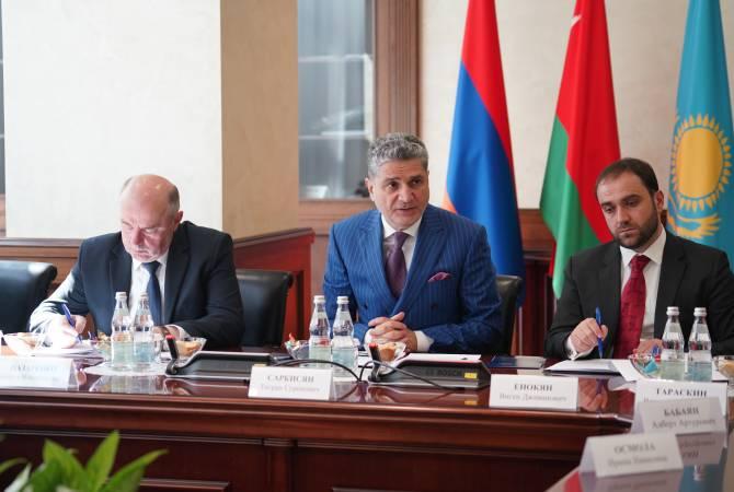 Եվրասիական տնտեսական հանձնաժողովում քննարկել են ԵԱՏՄ-ում ցեմենտի միասնական շուկա ձևավորելու հարցը