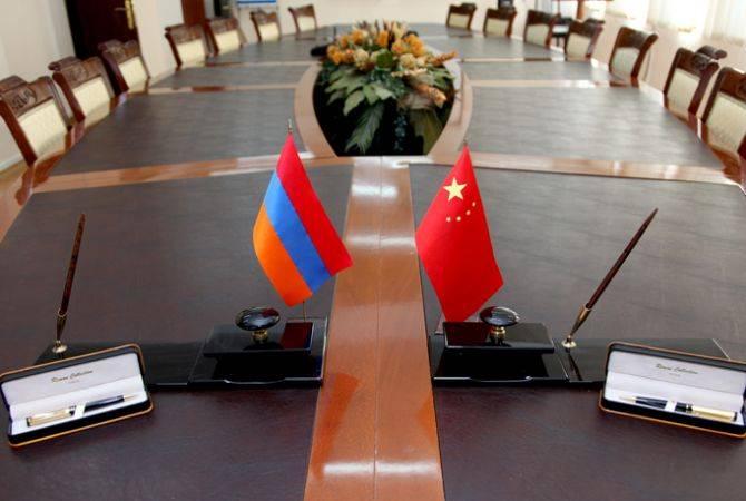 Չինաստանը պատրաստ է Հայաստանի հետ բացահայտելու նոր ուղիներ՝ մեկ գոտու և մեկ ճանապարհի կառուցման գործում