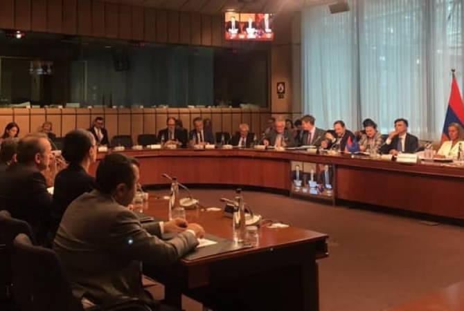 Բրյուսելում մեկնարկել է Հայաստան-ԵՄ Գործընկերության խորհրդի երկրորդ նիստը
