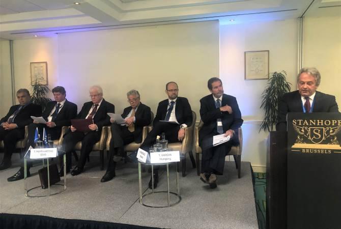 Բրյուսելում կայացել է ՍՏԾՀԿ և ԵՄ միջև համագործակցությանը նվիրված բարձր մակարդակի առաջին համաժողովը