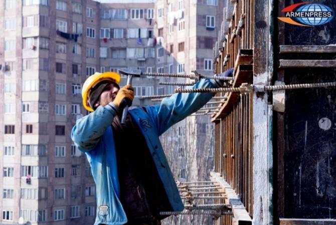 Վիճակագրական կոմիտեն անդրադարձել է շինարարության և շինանյութի արտադրության ցուցանիշներին