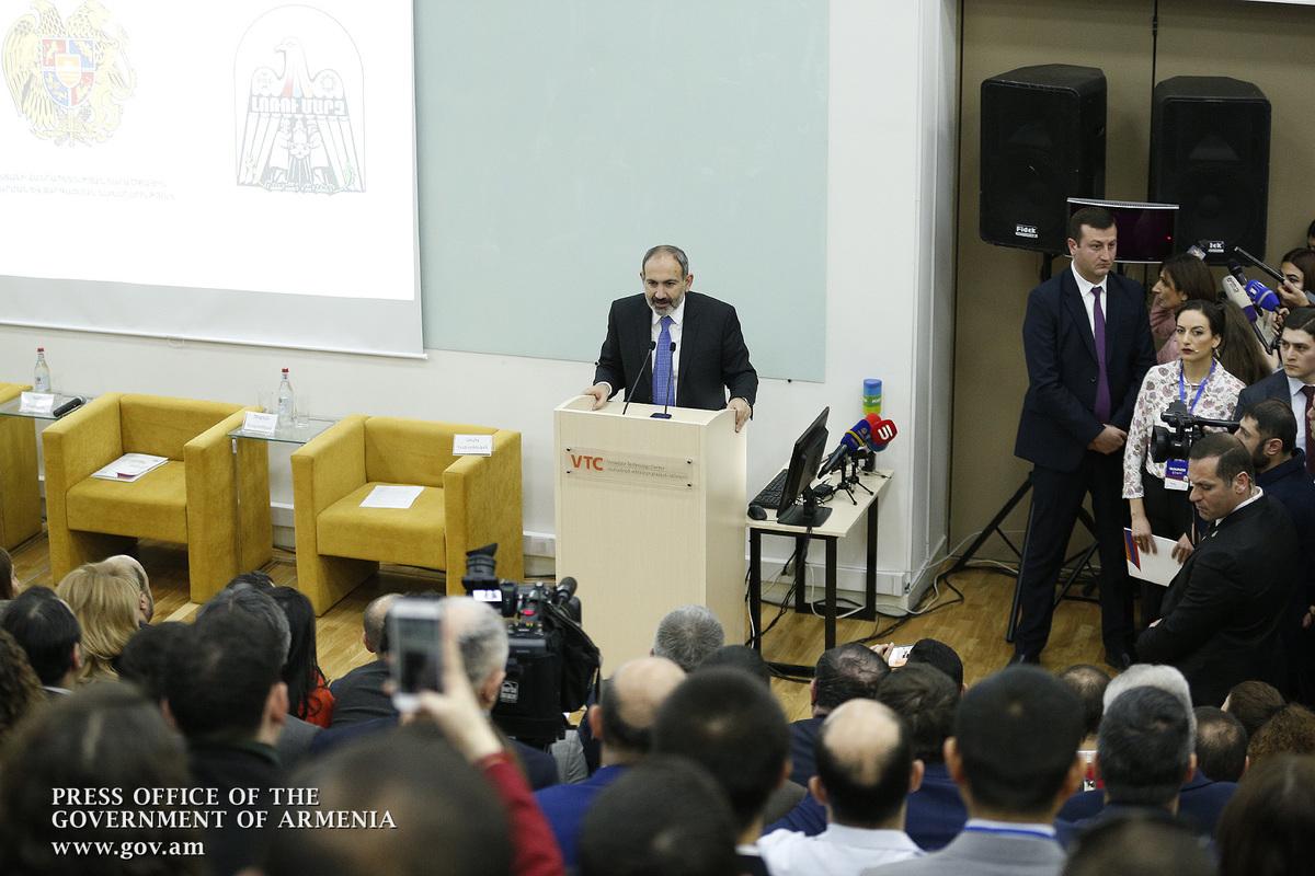 Համոզված եմ, որ հայկական քաղաքական հրաշքին կհաջորդի հայկական տնտեսական հրաշքը. Նիկոլ Փաշինյանը` Վանաձորի տնտեսական համաժողովում