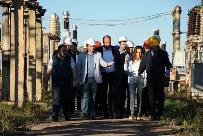 Սուրեն Պապիկյանը ծանոթացել է էներգետիկայի ոլորտում կատարվող շինաշխատանքներին
