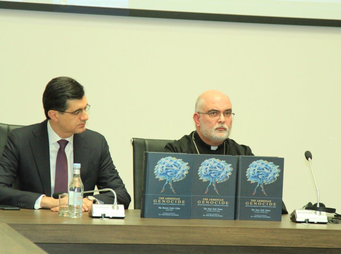 ՎիվաՍել-ՄՏՍ. աջակցություն Հայոց ցեղասպանությանն առնչվող՝ հերթական ժողովածուի հրատարակմանը
