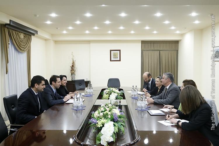 Մարությանն ընդունել է ՀՀ-ում ԱԶԲ մշտական ներկայացուցչության գրասենյակի նորանշանակ ղեկավար Պաոլո Սպանտիգատիին