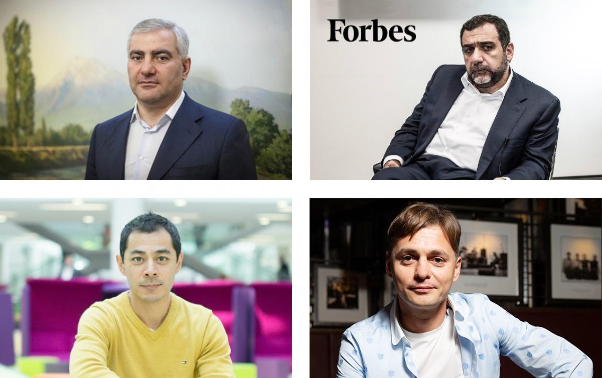 Forbes. Ռուսաստանի ամենահարուստ հայերը - 2019