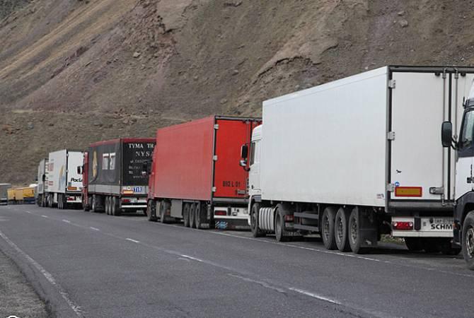 Բեռնատար մեքենաների համար ժամային սահմանափակումներ են մտցվել «Վերին Լարս»-ի ռուսական հատվածում