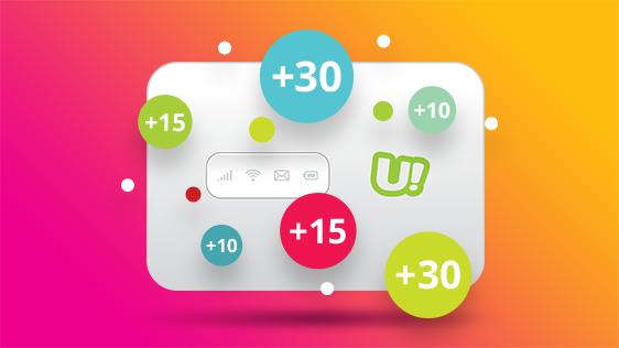 Ucom. uGo շարժական ինտերնետի բաժանորդները հավելյալ ինտերնետ կստանան ամեն ամսվա 20-ին