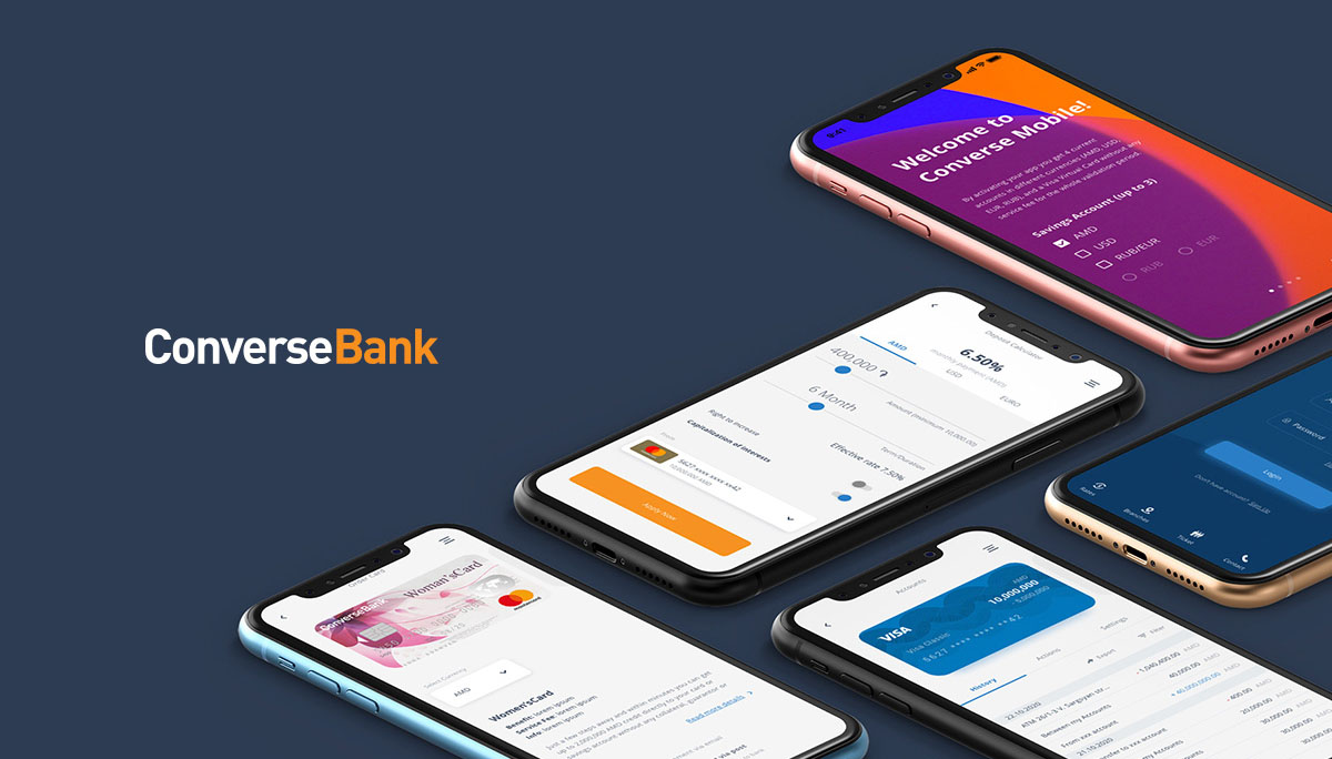 Կոնվերս Բանկը գործարկել է նոր Մոբայլ հավելված