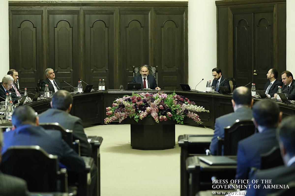 Կայացել է Հայաստանում կորոնավիրուսի տարածումը կանխարգելող աշխատանքները համակարգող հանձնաժողովի նիստը