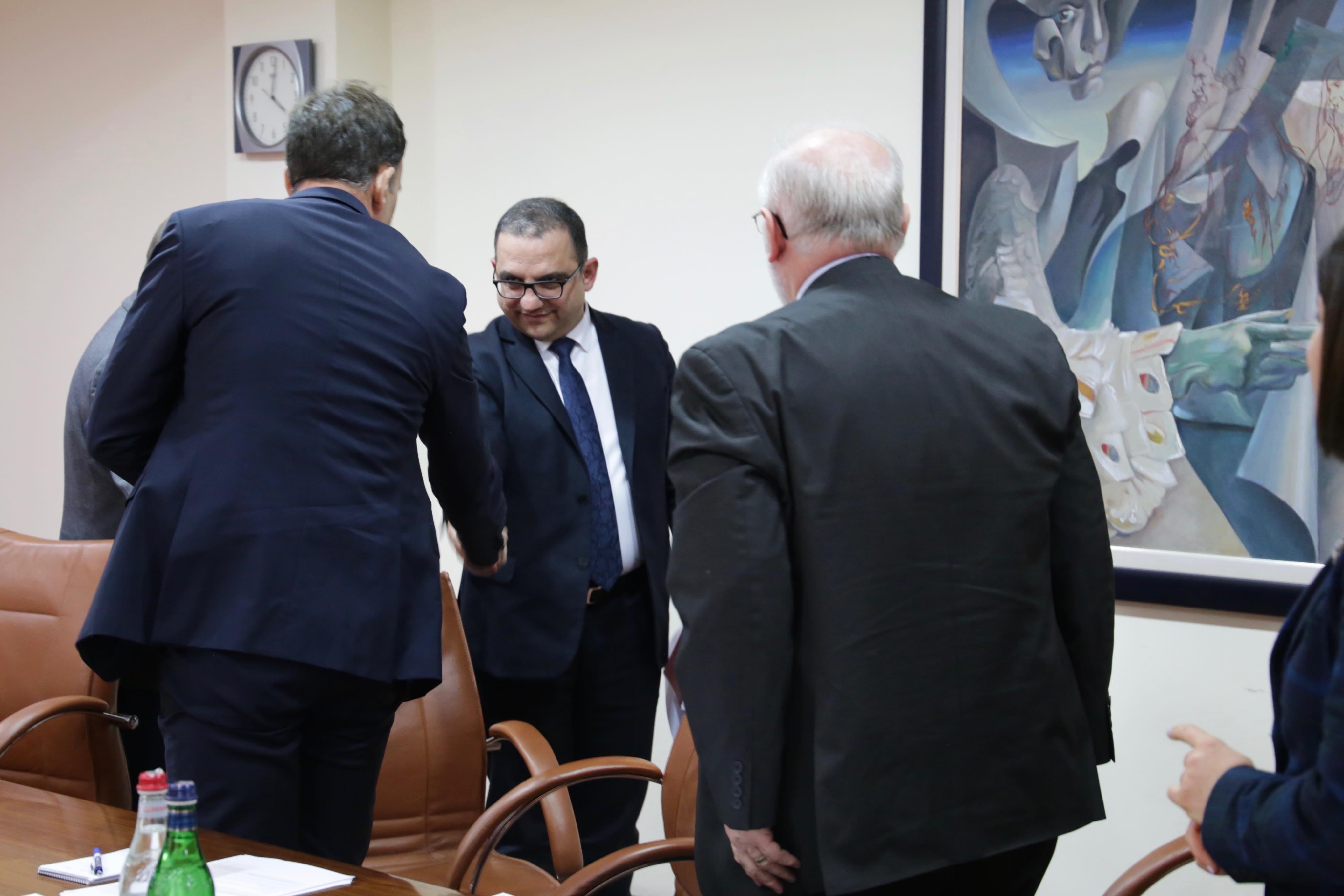 Համաշխարհային բանկի փորձագետները պատրաստակամ են աջակցելու Ներդրումների աջակցման կենտրոնի կայացմանը