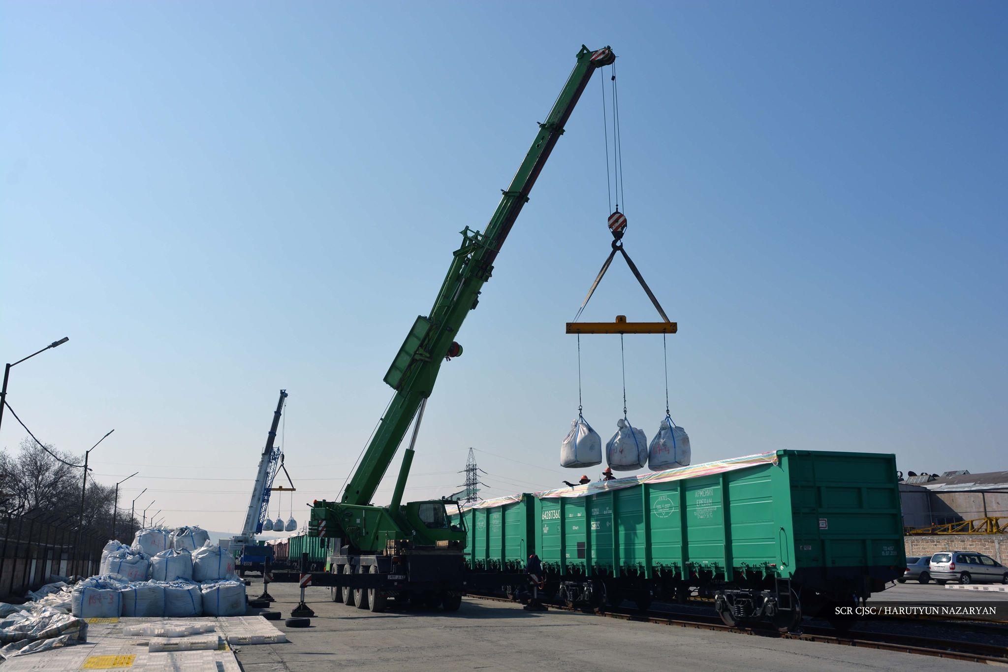 Հարավկովկասյան երկաթուղին շարունակում է ապահովել երկաթուղային բեռնափոխադրումների իրականացումը