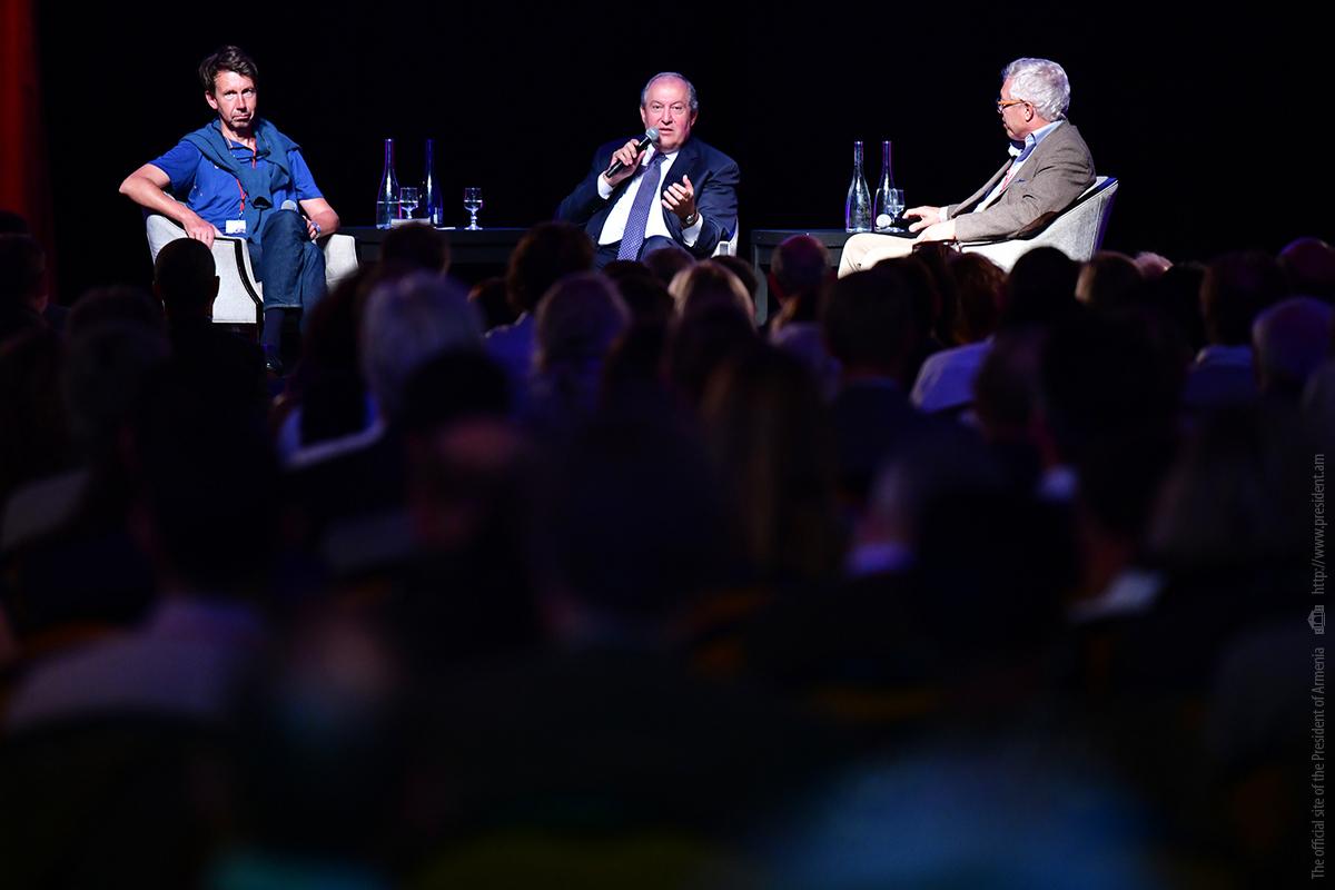Արմեն Սարգսյանը Ֆրանսիայում մասնակցել է Մտքերի գագաթնաժողովին (Summit of Minds)