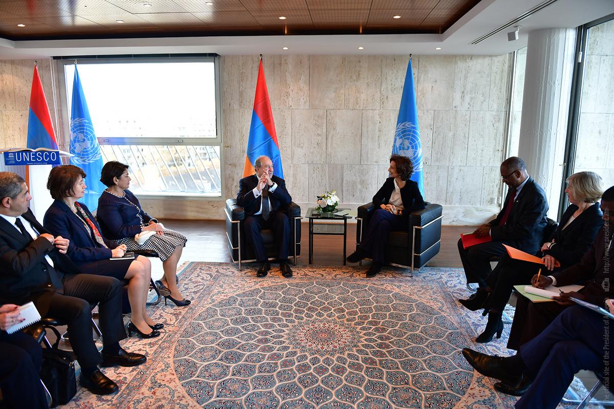 Արմեն Սարգսյան․ Ցանկալի է ՅՈՒՆԵՍԿՕ-ի մասնակցությունը Գյումրիում պատմամշակութային արժեքների պահպանմանը