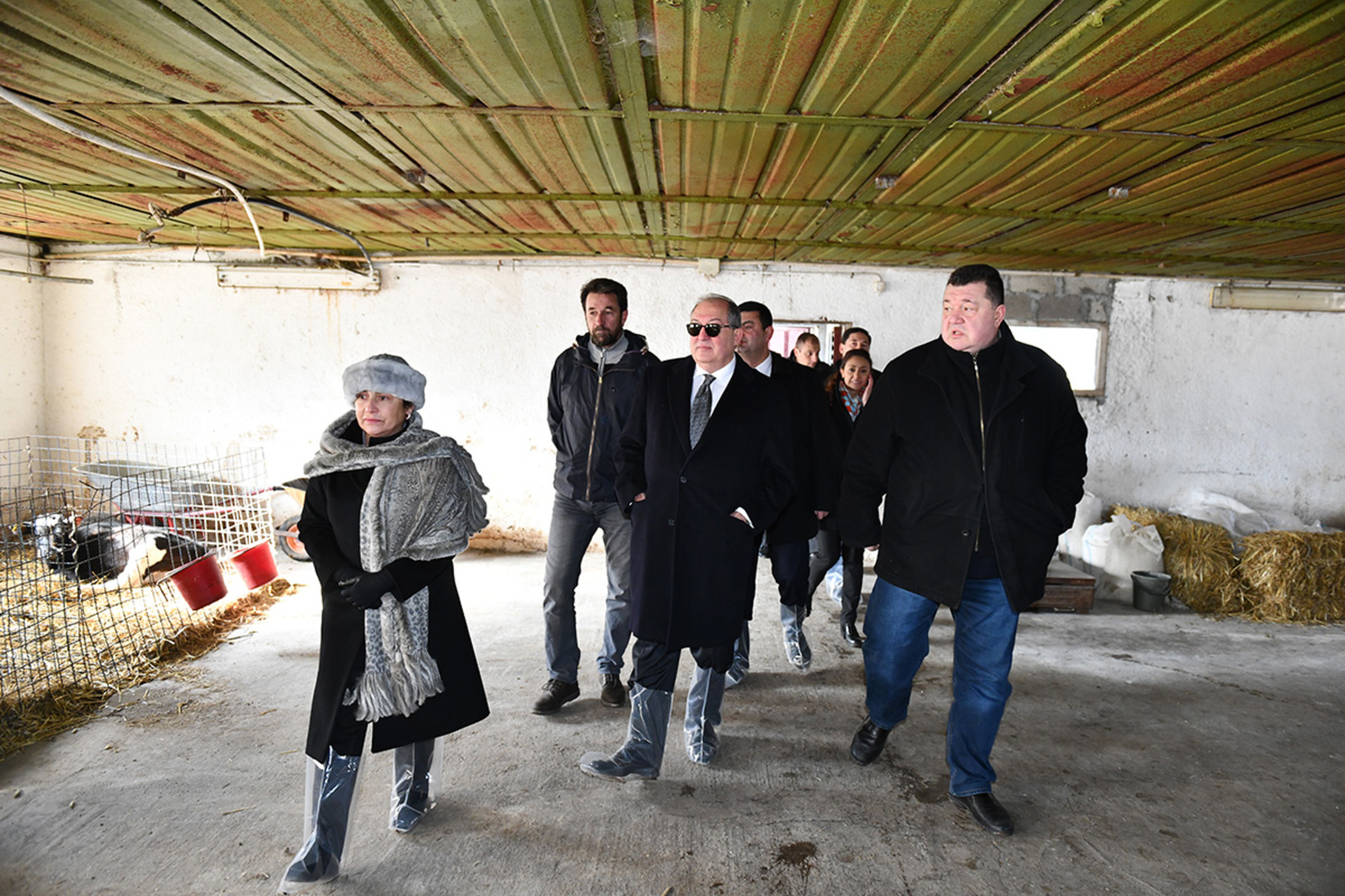 Արմեն Սարգսյանն այցելել է Սպիտակի «Ագրոհոլդինգ Արմենիա» ընկերություն