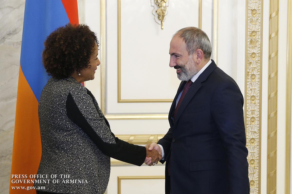 Ֆրանկոֆոնիայի միջազգային կազմակերպության գլխավոր քարտուղար Միկաել Ժանը Հայաստանում է