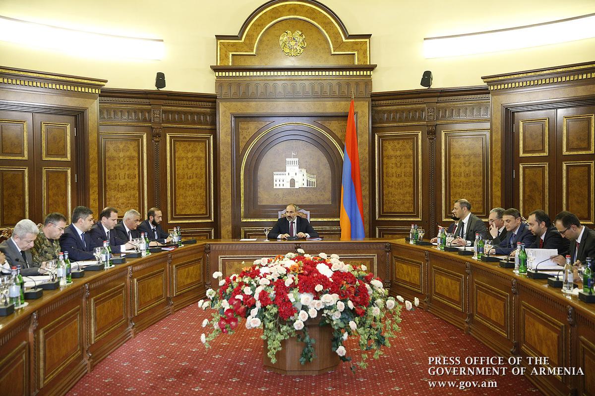ՀՀ վարչապետը հրավիրել է Անվտանգության խորհրդի նիստ