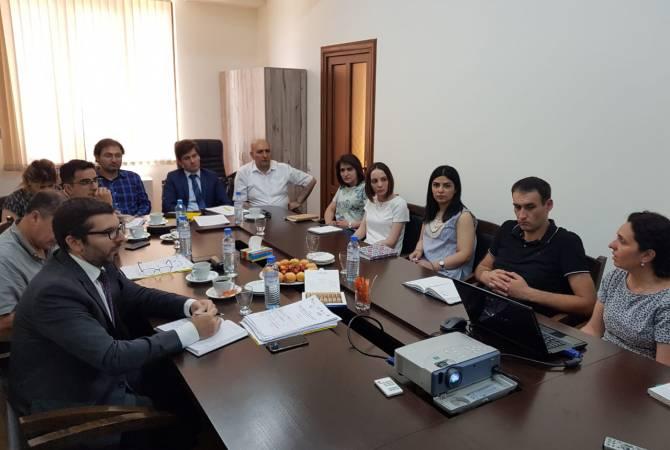 Արգենտինացի մասնագետները հանդիպումներ են անցկացնում Շիրակի մարզի տեղական արտադրողների հետ