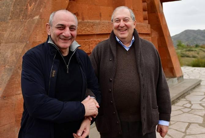 Արմեն Սարգսյանն ու Բակո Սահակյանը քննարկել են մի շարք գործնական հարցեր