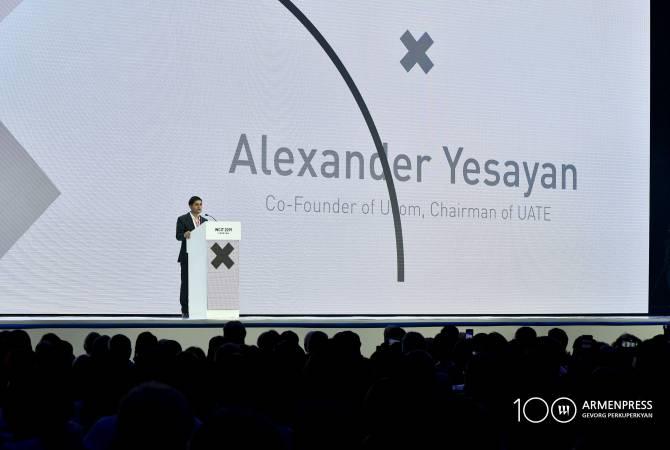 Ալեքսանդր Եսայան. Առաջիկա երեք օրերին Հայաստանը լինելու է ՏՏ համաշխարհային քարտեզի կենտրոնը