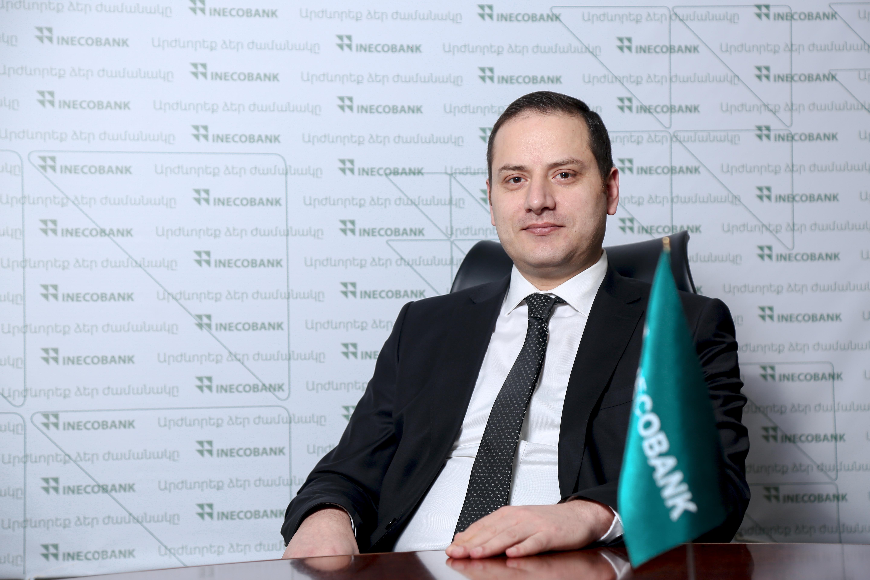 Արեն Նալթակյանը՝ Ինեկոբանկի նոր գործադիր տնօրեն