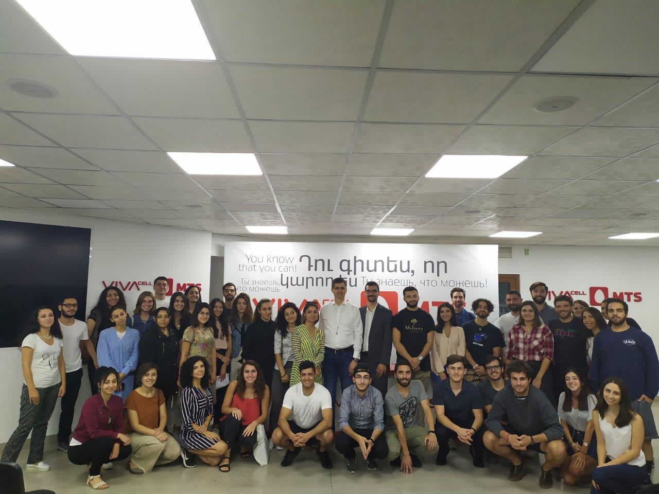 «Դեպի Հայք» հիմնադրամի երիտասարդ կամավորներն այցելել են ՎիվաՍել-ՄՏՍ