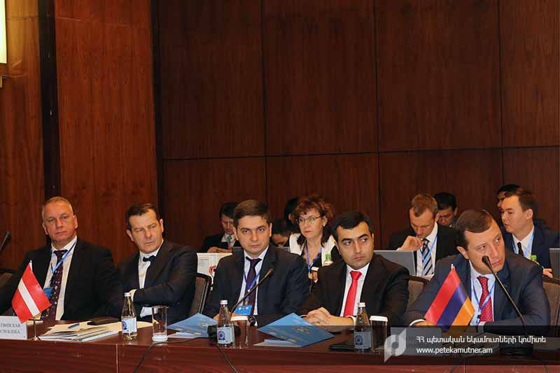 ՊԵԿ պատվիրակությունը մասնակցել է ԱՊՀ երկրների մաքսային ծառայությունների ղեկավարների խորհրդի իրավապահ ստորաբաժանումների ղեկավարների կոմիտեի 20-րդ նիստին